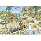 Comic 1500 Pezzi- Il Corso Di Golf (01555)