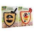 Set scudo + Spada Pirati  Legno (37559)