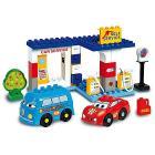 Unico Plus Cars for kids stazione di servizio 43 pezzi (104114324)