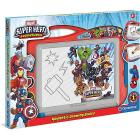 Lavagna Magnetica Marvel Super Hero