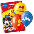 10 Palloncini Mickey Mouse