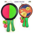 Racchette da spiaggia Magic Ball con velcro 20 cm (85309)