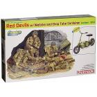 Red Devils with Welbike and Drop Tube Container, Arnhem 1944 1/35 (DR6585)