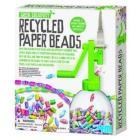 Perline con carta riciclabile