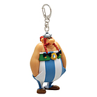 Asterix Obelix Hands In Pockets Keychain