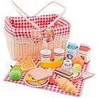 Set cesto picnic - 27 pz legno (10590)