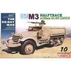 Veicolo semicingolato IDF M3 HALFTRACK w/20cm HS.404 CANNON 1/35 (DR3598)