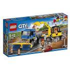 Spazzatrice ed escavatore - Lego City (60152)