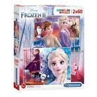 Puzzle 2x60 Frozen 2 21609