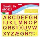 ABC 123 stencils (2609)