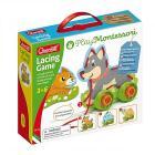 Play Montessori Lacing & Wheels Cuci gli animali e monta le ruote (0612)