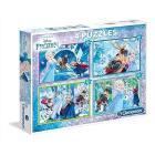 Frozen 2x20 pezzi + 2x 60 pezzi (7614)