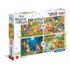 Winnie The Pooh 2x20 pezzi + 2x60 pezzi (7618)
