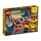 Drago del fuoco - Lego Creator (31102)