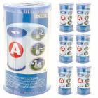 Cartuccia Filtro per Pompe Filtro Clorinatore Combo Confezione 6 Cartucce (59900)