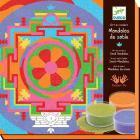 Manadala tibetani - sabbia colorata