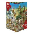 Puzzle 1500 Pezzi Triangolare - Global City