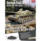 Carro armato Stug Iv Sd.Kfz. 167 Early. Scala 1/35 (AC13522)
