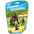 Gorilla con piccoli (6639)