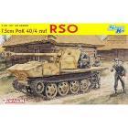 Carro Armato 7.5CM PAK 40/4 AUF RSO. Scala 1/35 (DR6640)