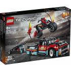 Truck e moto dello Stunt Show - Lego Technic (42106)