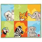 Tappeto Trudi Rugs Animali del mondo (60645)