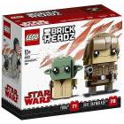 Luke Skywalker e Yoda - Lego Brickheadz (41627)