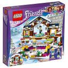 La pista di pattinaggio del villaggio invernale - Lego Friends (41322)