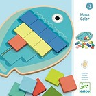 Mosa Color mosaico in legno (DJ01665)
