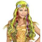 Parrucca Fatina Multicolore