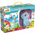 Carotina Baby Unicorno Peluche + Mega Puzzle (76673)