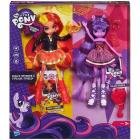 Twilight Sparkle And Sunset Shimmer