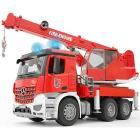 Mercedes Benz Arocs autogru pompieri con luci e suoni (3675)