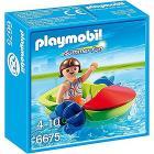 Ragazza con Fun Boat (6675)