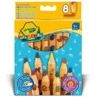 8 Maxi matite colorate (3678)