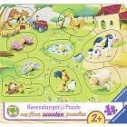 Piccola Fattoria. Puzzle in legno 10 pezzi (03683)