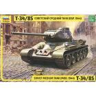 Carro armato Soviet Medium Tank T-34/85 1/35 (ZS3687)