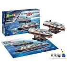 Nave 1/1200 Gift Set 125 Years Hurtigruten TROLLFJORD & MIDNATSOL. Scala 1/1200 (RV05692)