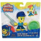 Play-Doh Playset Personaggio Poliziotto con Pasta Modellabile