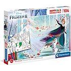 Puzzle 104 Pz Frozen Double Face con Pennarelli (25716)