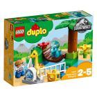 Lo Zoo dei giganti gentili - Lego Duplo Jurassic World (10879)