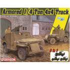 1/35 Armored 1/4-Ton 4x4 Truck W/.50-Cal Machine Gun
