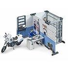 Stazione polizia con motocicletta (62732)