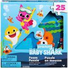 Baby Shark Puzzle gommapiuma 25 pezzi (6054917)
