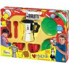Set Moka Per Due Persone Con Accessori