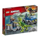Raptor Rescue Truck Lego Juniors Jurassic World (10757)