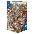 Puzzle 2000 Pezzi Triangolare - Sherlock & Co.