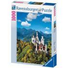 Castello di Neuschwanstein in autunno