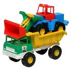 Camion Sabbia con Ruspa