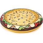 Materassino Isola Gonfiabile Burger 150 cm